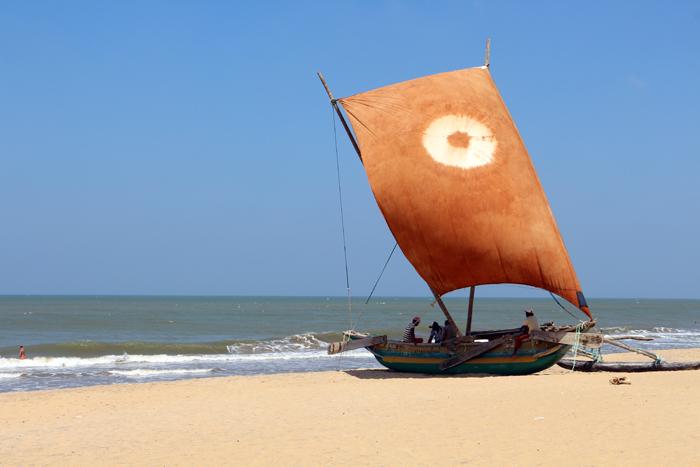 Katamaran in Negombo