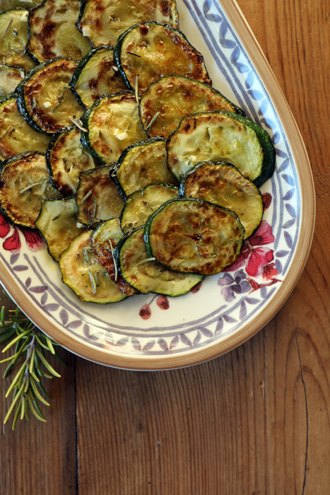 Eingelegte Zucchini - Antipasti