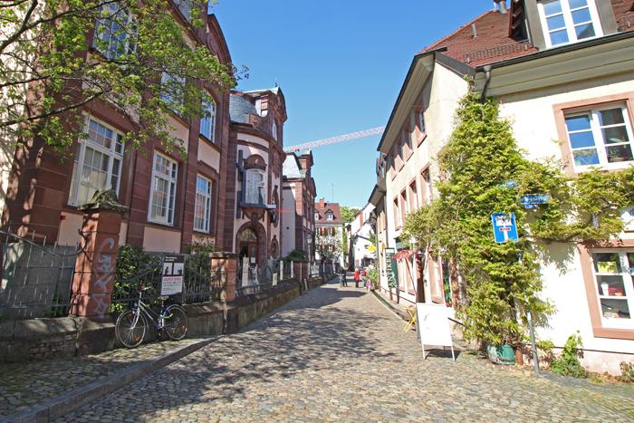 Freiburg - Stadtviertel Wiehre
