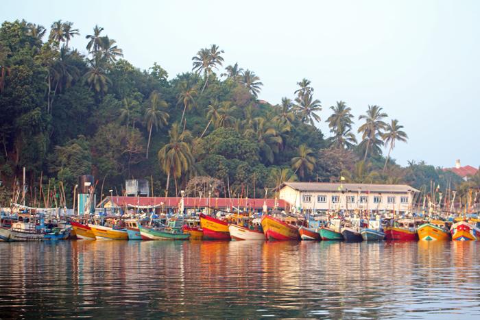 Hafen von Mirissa