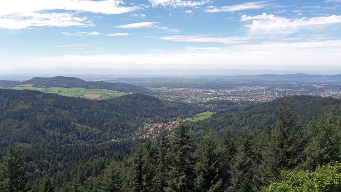 Kybfelsen Ausblick, Freiburg