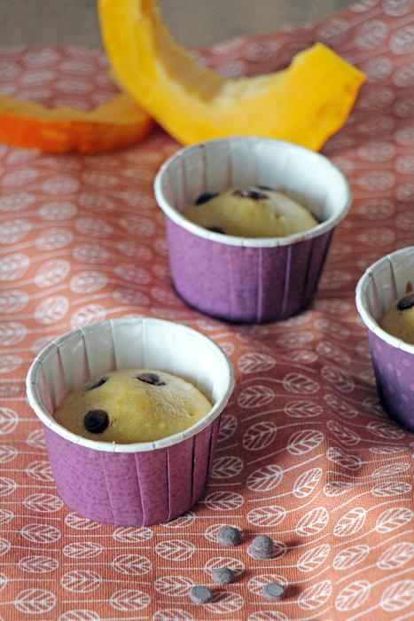 Kürbis-Chai-Muffins