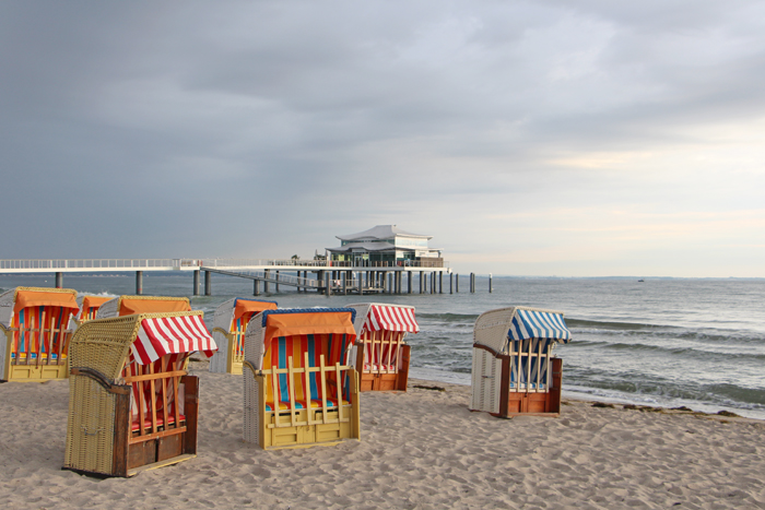 Strandkörbe an der Ostsee, Timmendorfer Strand