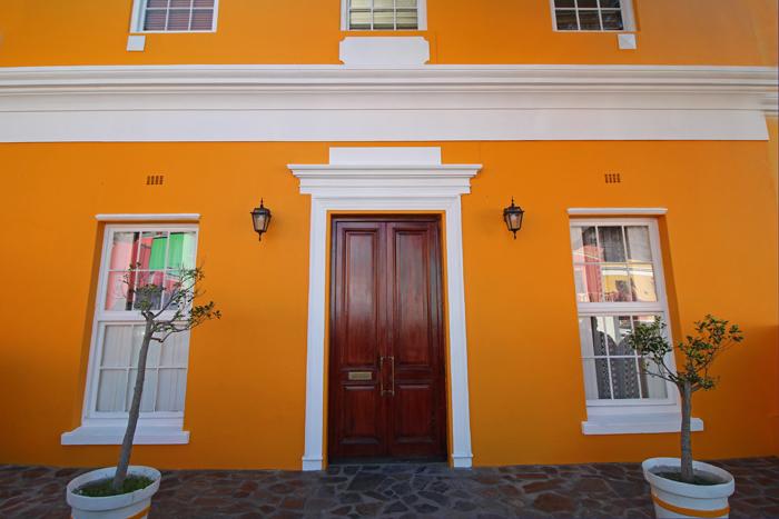 Haus in Bo-Kaap in Kapstadt