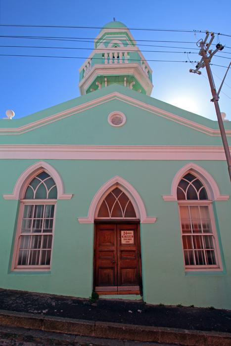 Moschee in Bo-Kaap, Kapstadt