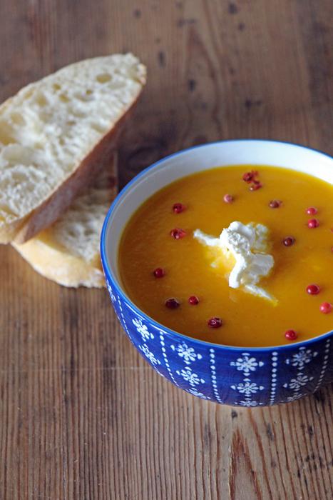 Kürbis-Vanille-Suppe von Transglobal Pan Party