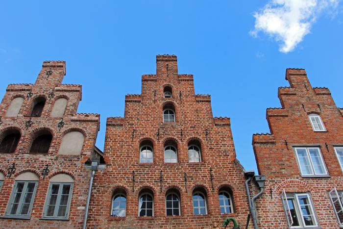 Lübeck Backsteinhäuser