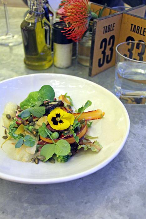 Spier Weingut - Restaurant Eight: Salat