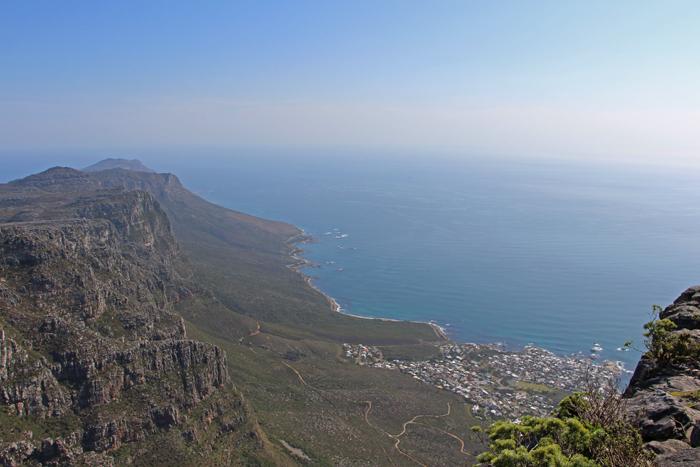 Blick vom Tafelberg, Kapstadt