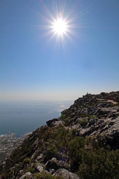 Haus auf dem Tafelberg