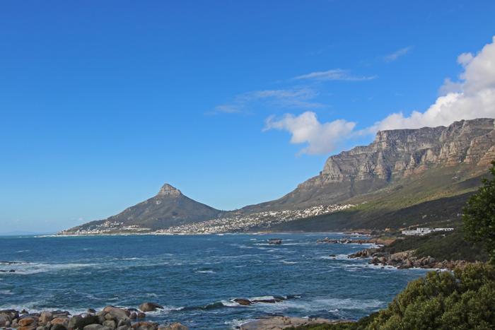 Tafelberg und Lion's Head in Kapstadt