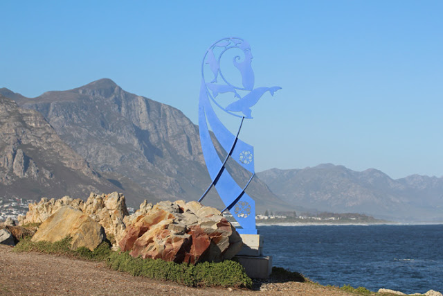 Skulptur in Hermanus