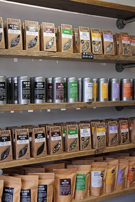 Tee von Bluebird Tea, Brighton