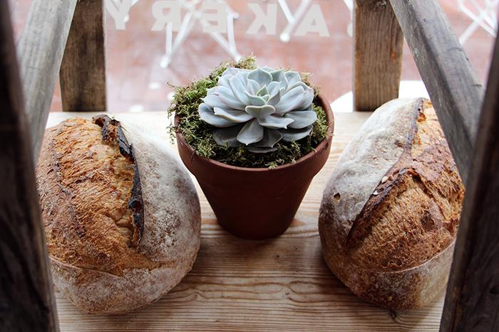 Brot in der Flour Pot Bakery