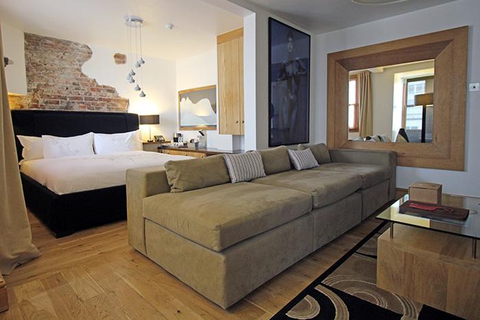 Zimmer Wysla im Hotel Una, Brighton
