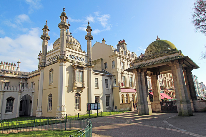 Royal Pavillon in Brighton