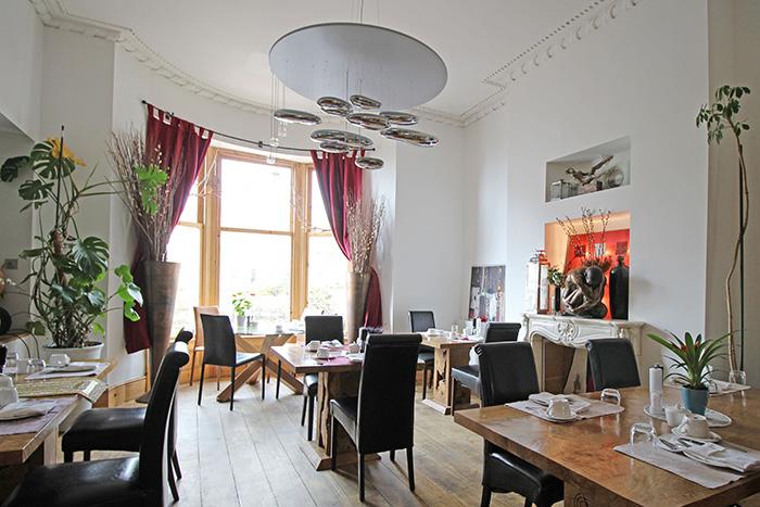 Frühstücksraum im Hotel Una, Brighton