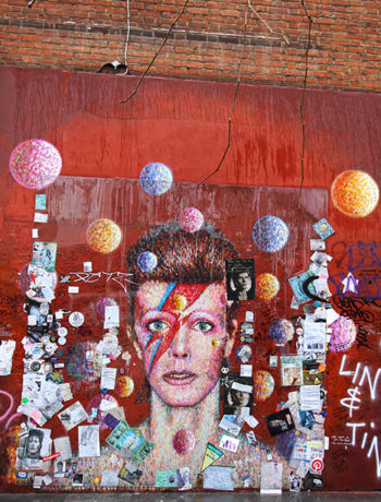 David Bowie Memorial in Brixton