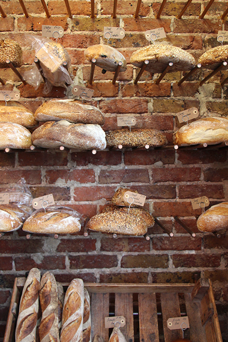 Veganes Brot in der Flour Pot Bakery, Brighton
