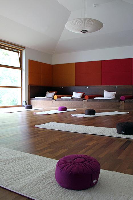 Yoga Raum Biohotel Daberer