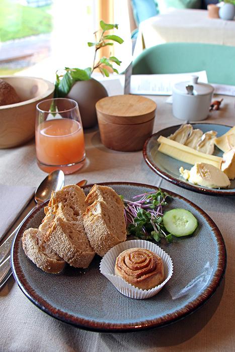 Slow Food Frühstück im Biohotel Der Daberer