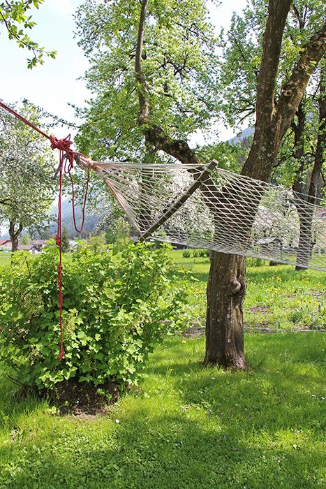 Hängematte im Bauernhof in Kärnten