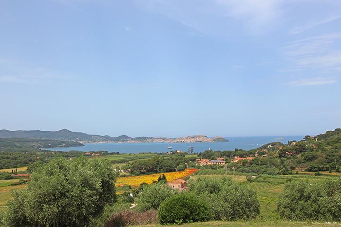 Ausblick vom Hotel Santo Stefano auf Portoferraio