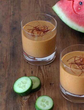 Gazpacho mit Wassermelone