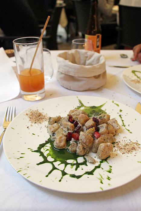 Hauptgang Dinner LA VIMEA