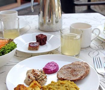 Deftiges Frühstück im La Vimea