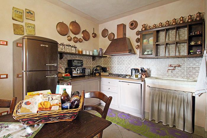 Ferienhaus-Küche in der Toskana