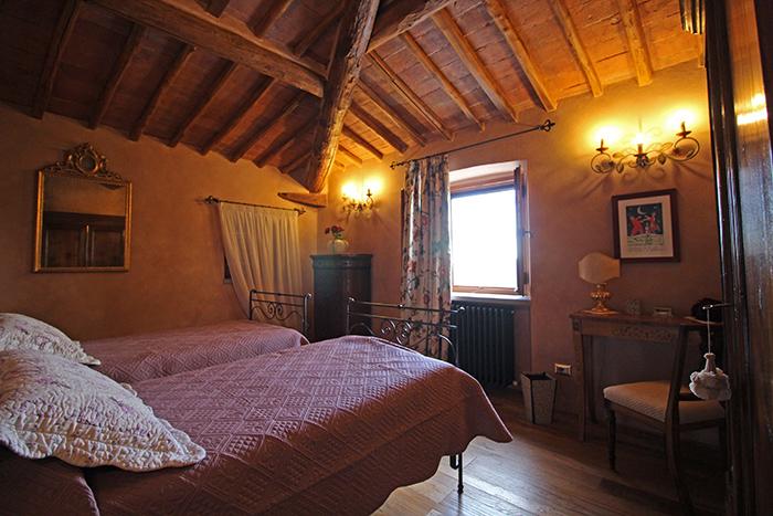 Schlafzimmer Ferienhaus