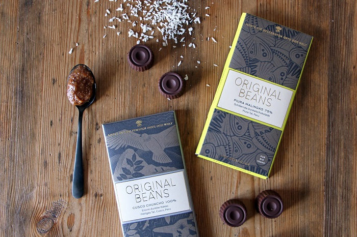 Peruanische Chocotejas mit Original Beans Schokolade