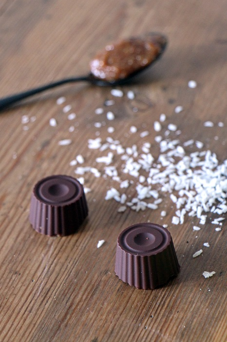 Peruanische Chocotejas