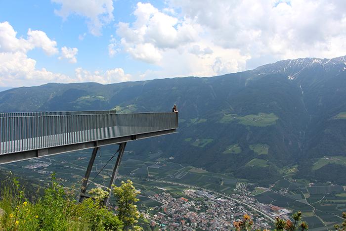 Aussichtsplattform Meraner Höhenweg