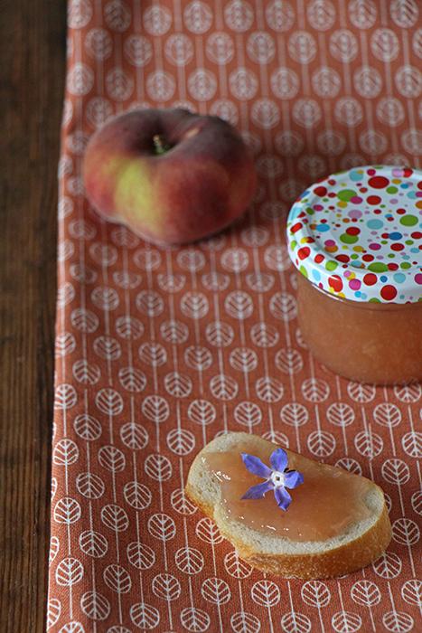 Marmelade aus Plattpfirsichen