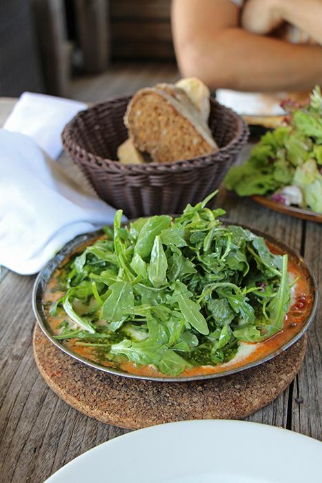 Burrata im Restaurant zum Fischer, Ammersee