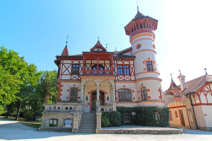 Seeschloss in Herrsching am Ammersee