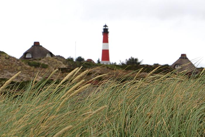Leuchtturm von Hörnum auf Sylt