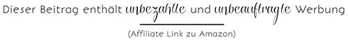 Werbung Blog Affiliate
