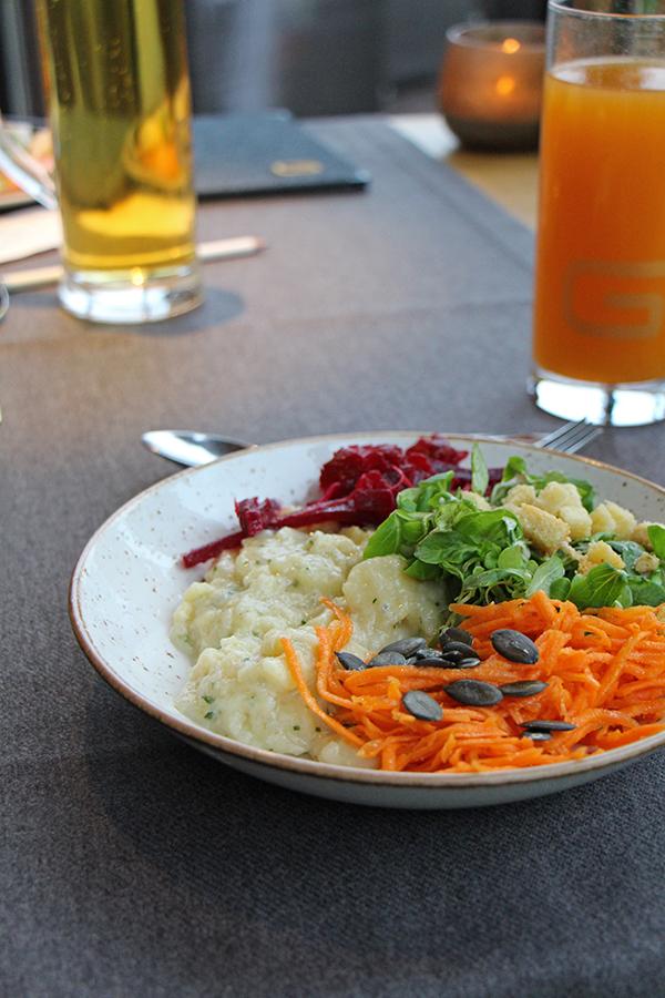 Salatbuffet im Das Goldberg