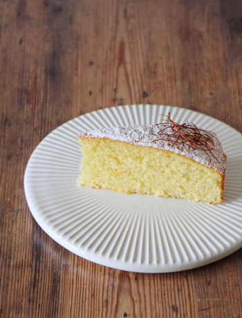 Safran-Mandel-Kuchen Rezept