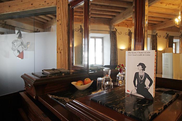 Coco Chanel Suite im Schloss Mittersill