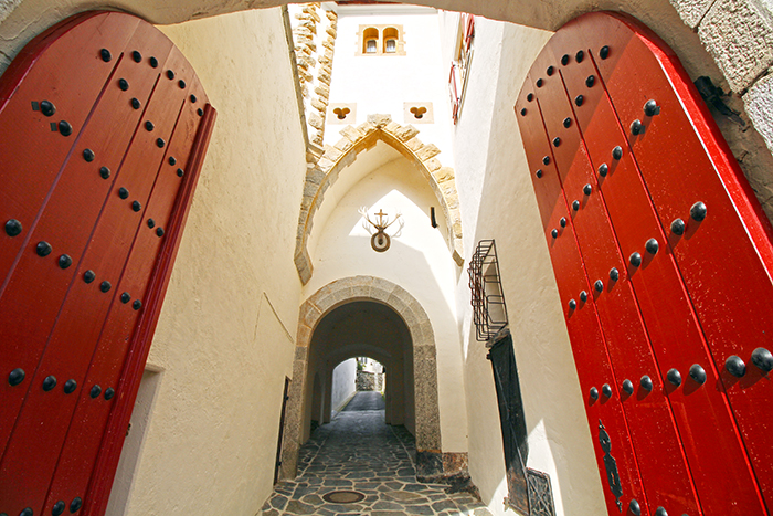 Schloss Mittersill Burgtor