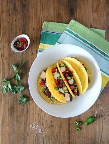 Vegetarische Tacos - mexikanisch vegetarisch