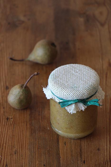 Zimtbirnen-Marmelade