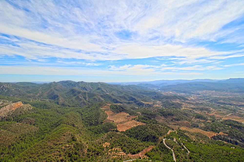 Aussichtspunkt Pico del Remedio in der Region Valencia, Fotomotiv in Spanien