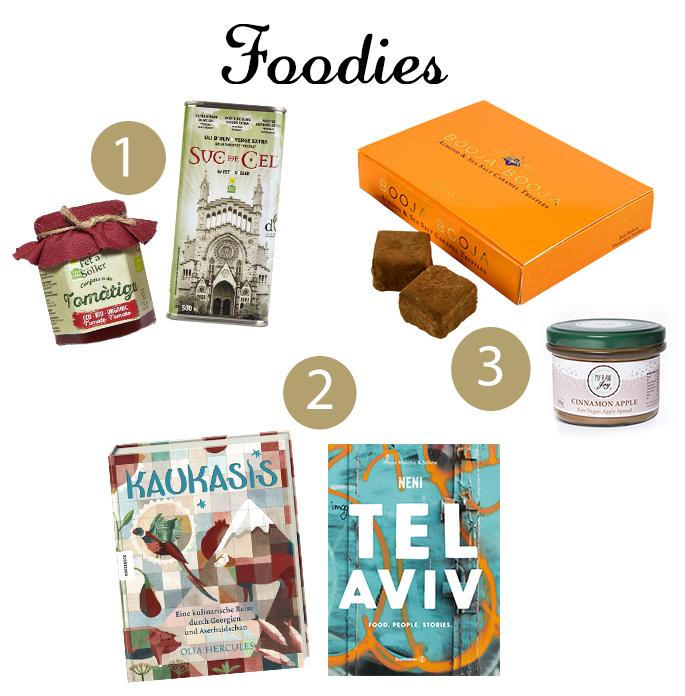 Weihnachtsgeschenke für Gourmets und Foodies, Geschenkideen zu Weihnachten