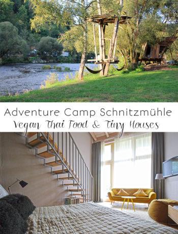 Adventure Camp Schnitzmühle: Vegan Thai Food & Tiny Houses im Bayerischen Wald