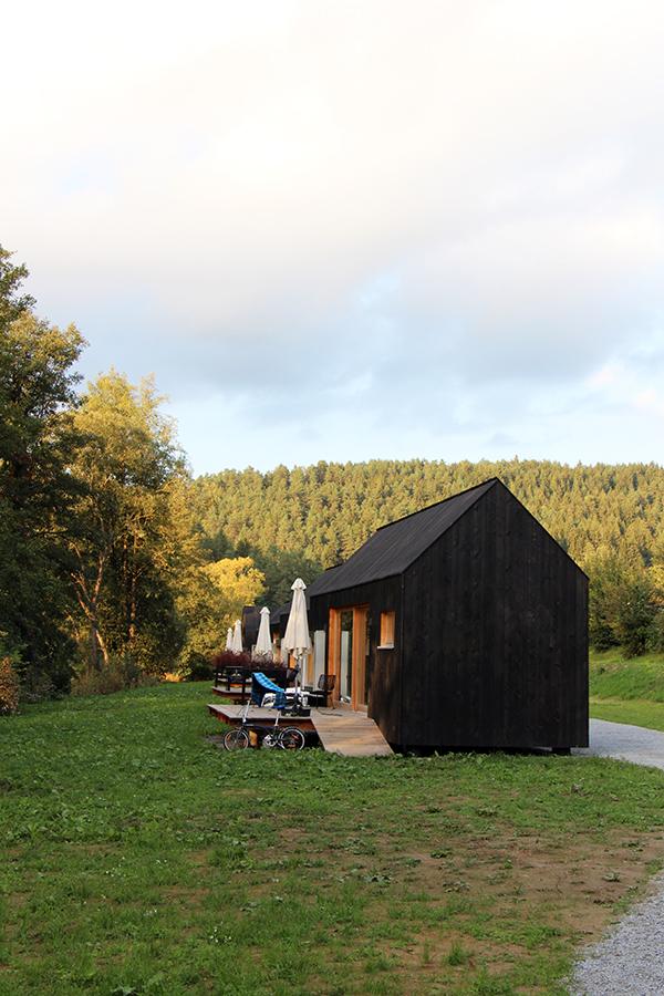 Tiny Houses in der Schnitzmühle (Schwarzes Haus)